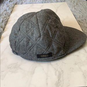 OBEY wool blend cap